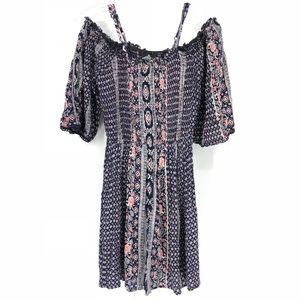 🛍 Angie Boho Off The Shoulder Dress